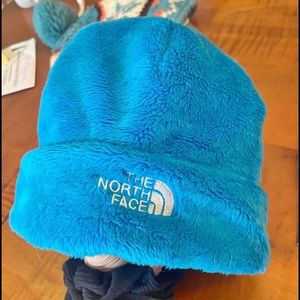 THE NORTH FACE-fuzzy beanie